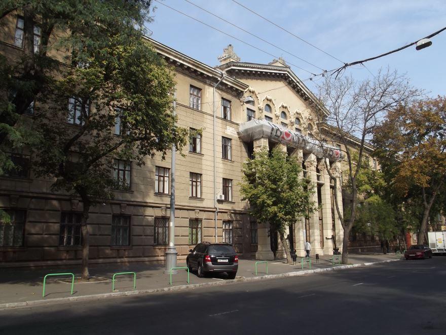 Мореходный колледж технического флота город Одесса