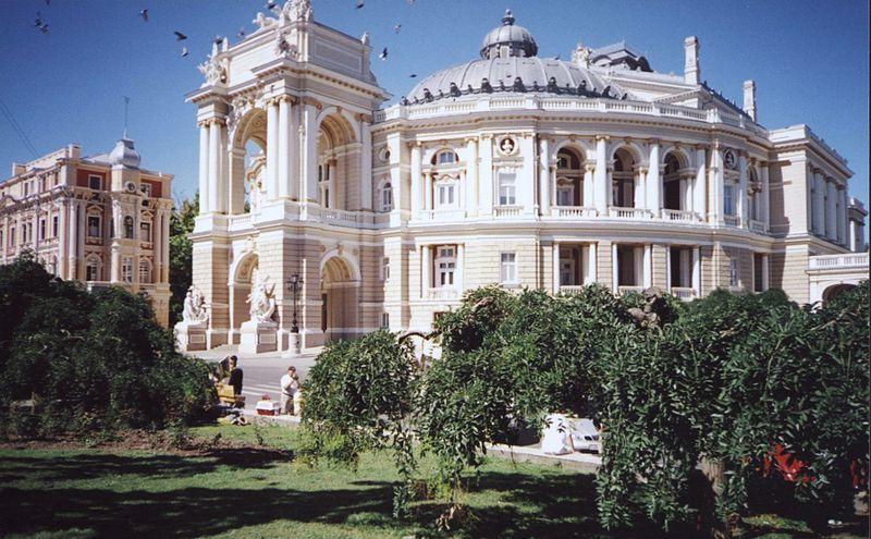 Смотреть красивое фото здание оперы город Одесса