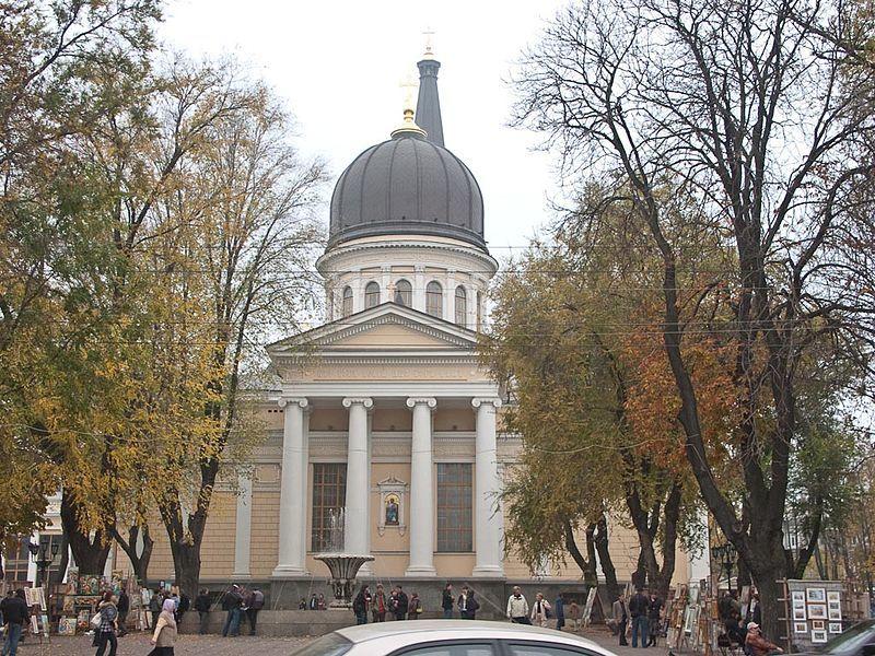 Спасо-Преображенский собор город Одесса