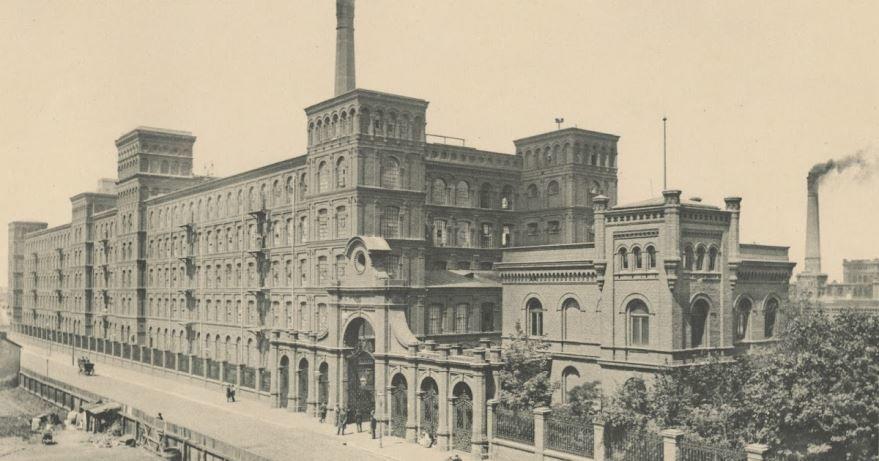 Смотреть лучшее старинное фото города Лодзь в хорошем качестве