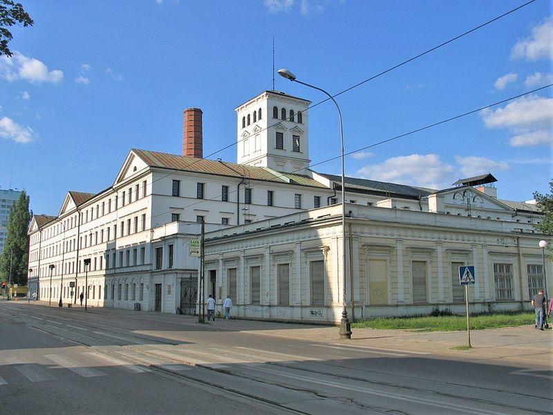 Фабрика город Лодзь