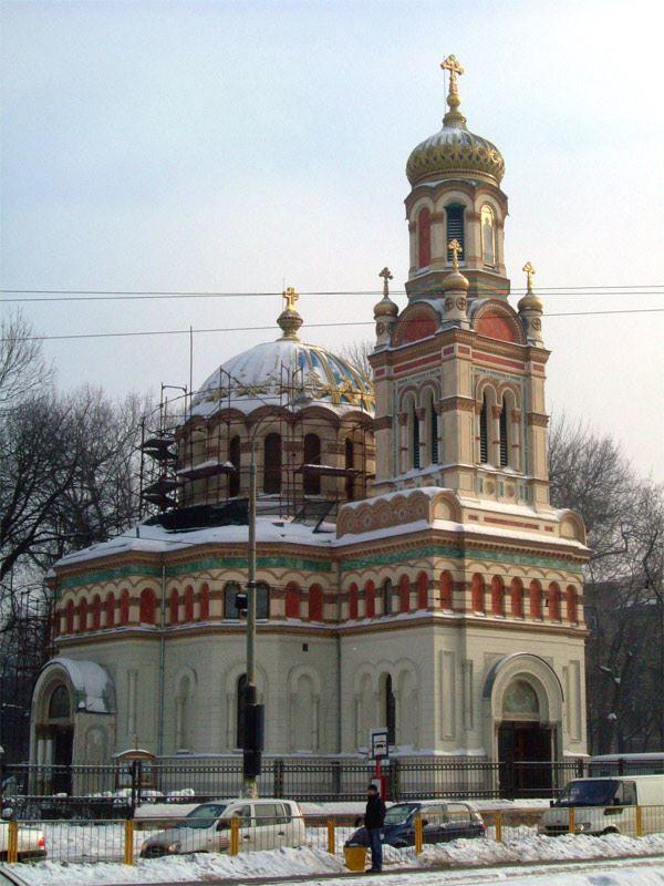 Собор Александра Невского город Лодзь