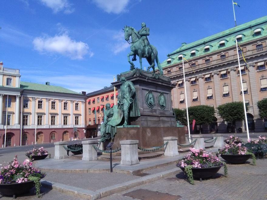 Скачать онлайн бесплатно лучшее фото достопримечательности города Стокгольм Швеция в хорошем качестве