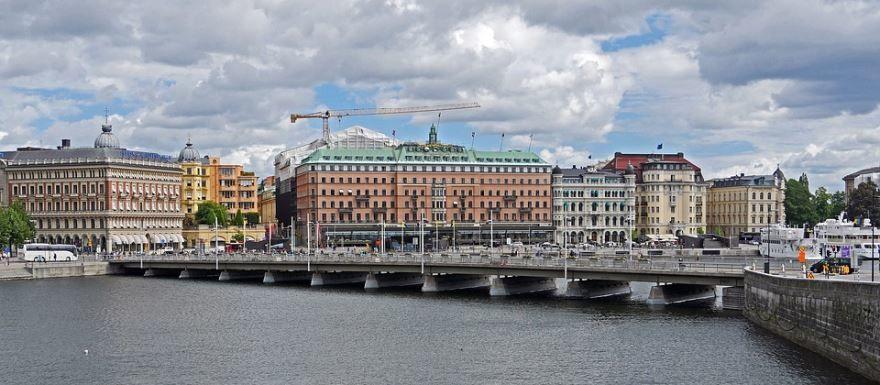 Скачать онлайн бесплатно лучшее фото города Стокгольма в хорошем качестве