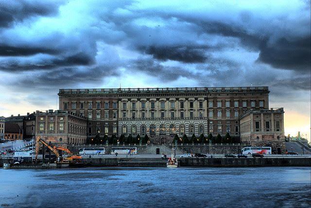 Королевский дворец город Стокгольм
