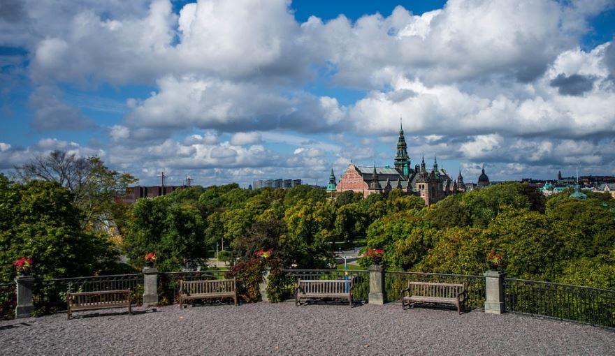Смотреть красивое фото замок город Стокгольм