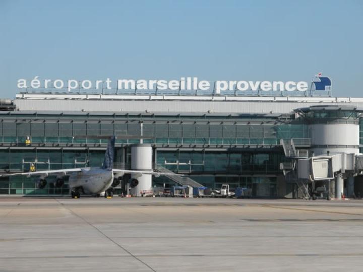 Аэропорт город Марсель Франция
