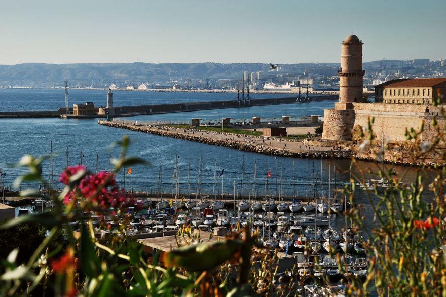 Старый порт город Марсель