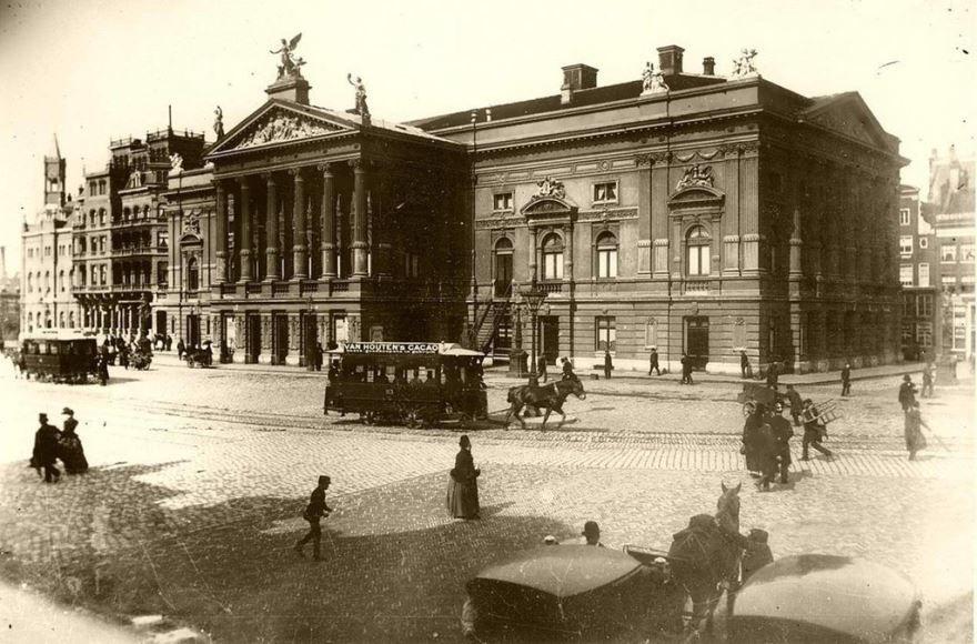 Смотреть лучшее старинное фото города Амстердам в хорошем качестве