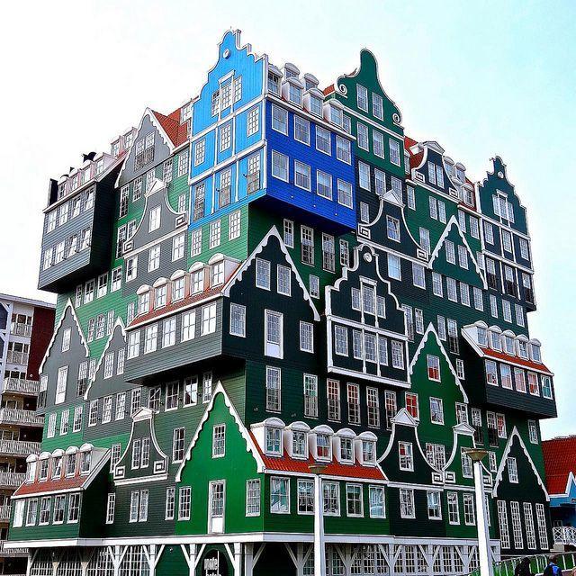 Смотреть красивое фото с красивой архитектурой город Амстердам Нидерланды