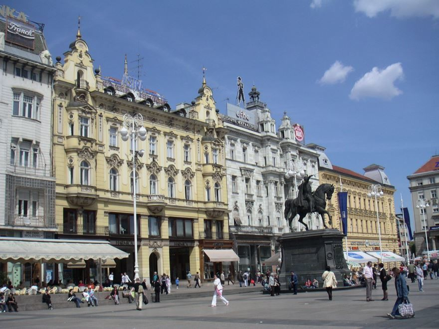 Скачать онлайн бесплатно лучшее фото достопримечательности города Загреб в хорошем качестве