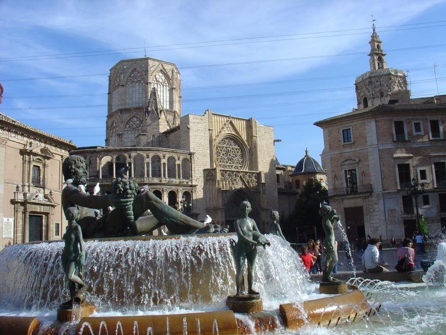 Скачать онлайн бесплатно лучшее фото достопримечательности города Валенсия в хорошем качестве