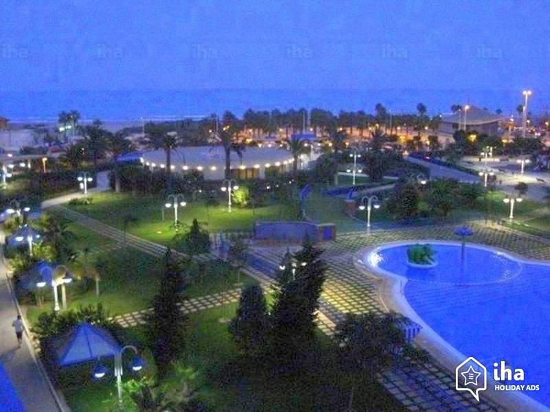 Вид сверху город Валенсия 2018