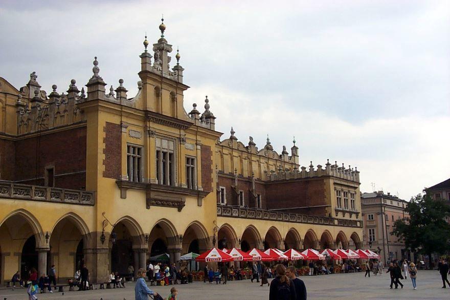 Смотреть фото с красивой архитектурой города Краков 2019