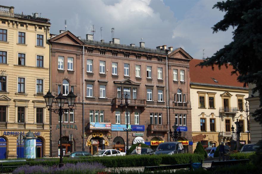 Скачать онлайн бесплатно лучшее фото улица города Краков в хорошем качестве