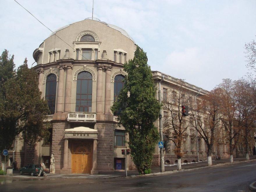Краеведческий музей город Запорожье