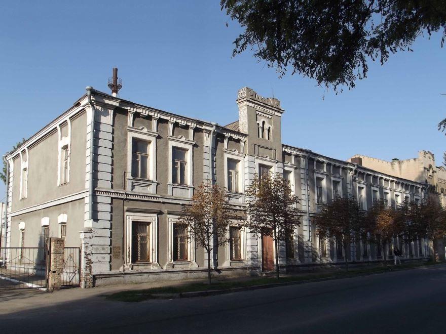 Старинное здание город Запорожье