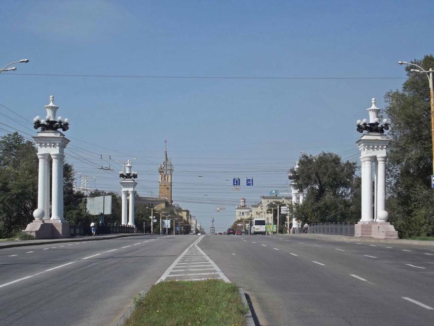 Смотреть красивое фото проспект Ленина город Запорожье