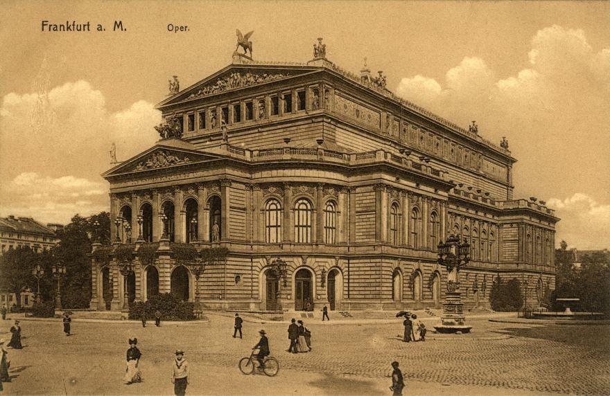 Смотреть лучшее старинное фото города Франкфурт в хорошем качестве