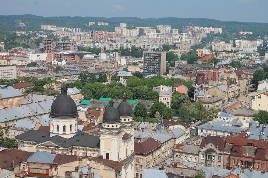 Скачать онлайн бесплатно лучшее фото города Львов в хорошем качестве