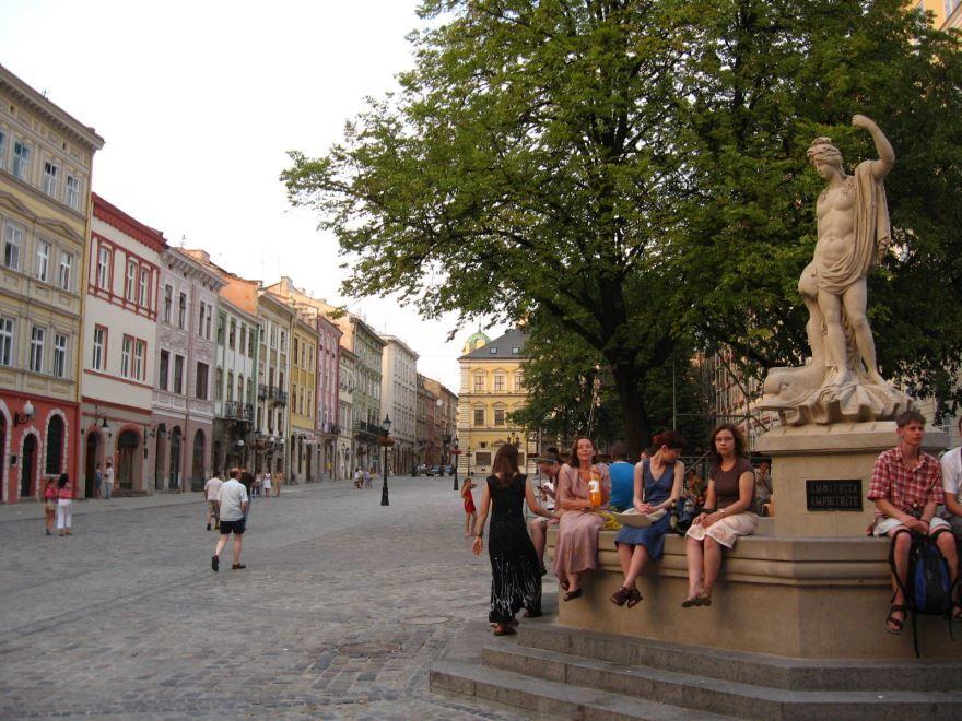 Скачать онлайн бесплатно лучшее фото достопримечательности города Львов в хорошем качестве