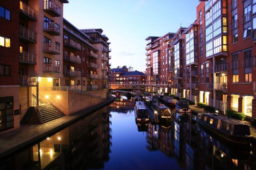 Смотреть красивое фото город Бирмингем в хорошем качестве