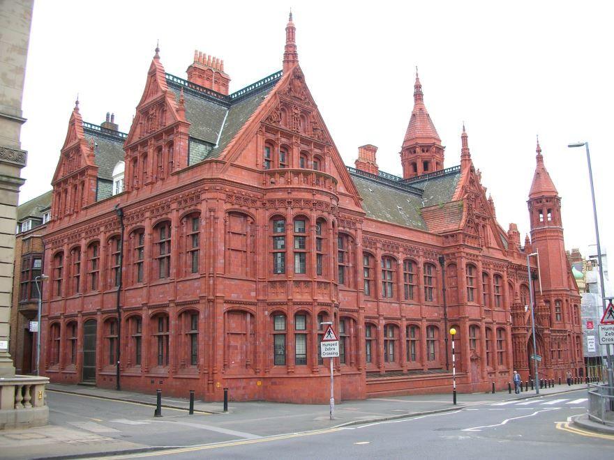 Красивая архитектура город Бирмингем