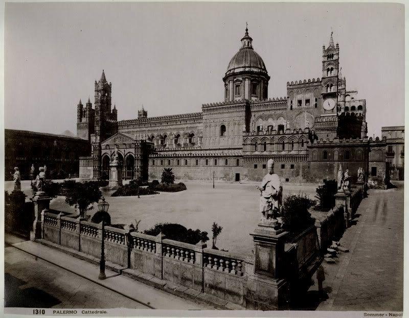 Смотреть лучшее старинное фото города Палермо в хорошем качестве