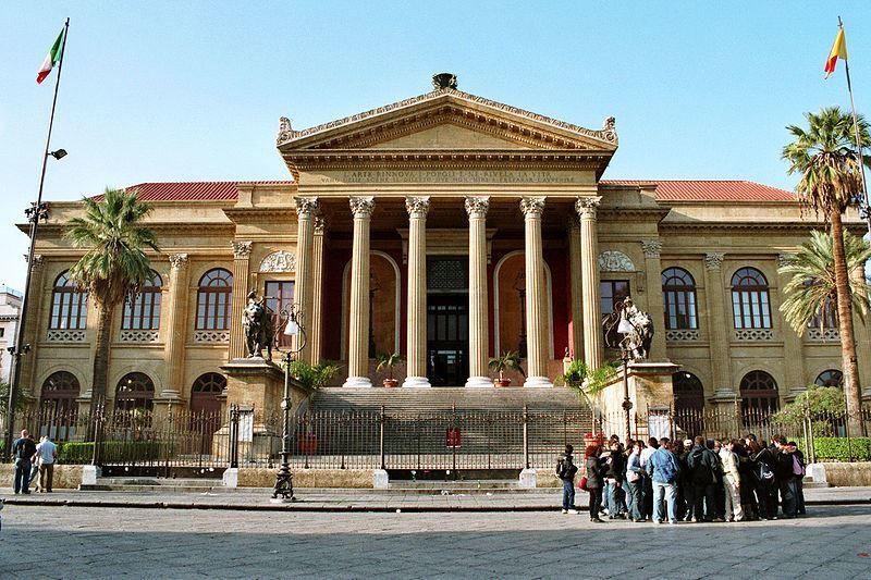 Театр Массимо город Палермо