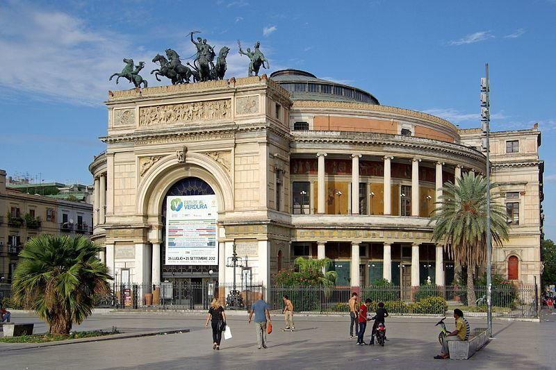 Театр город Палермо