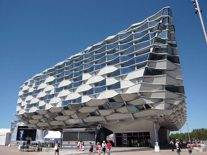 Арагонский павильон международной экпозиции Сарагоса