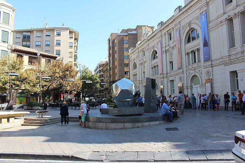 Площадь Хосе Синуэс и Урбиола город Сарагоса