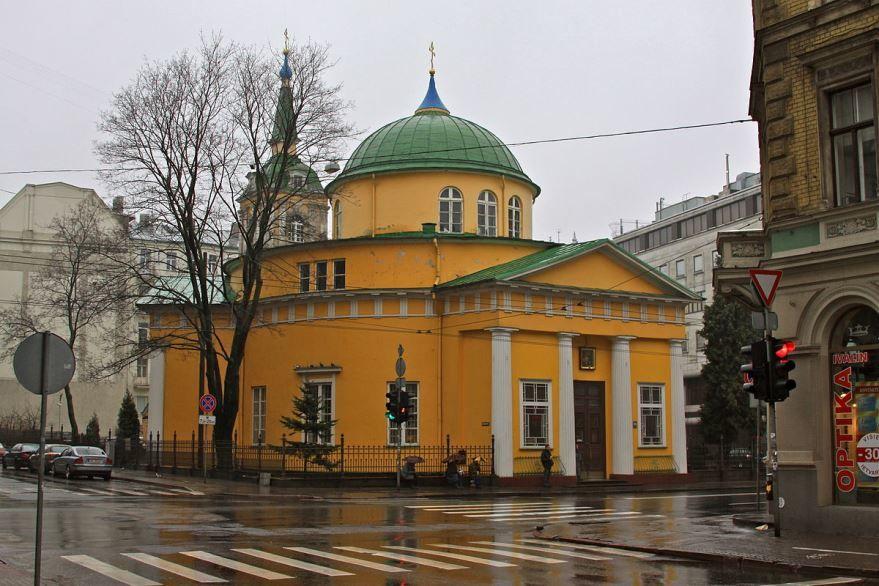 Церковь Александра Невского город Рига