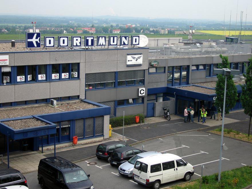 Аэропорт город Дортмунд 2019