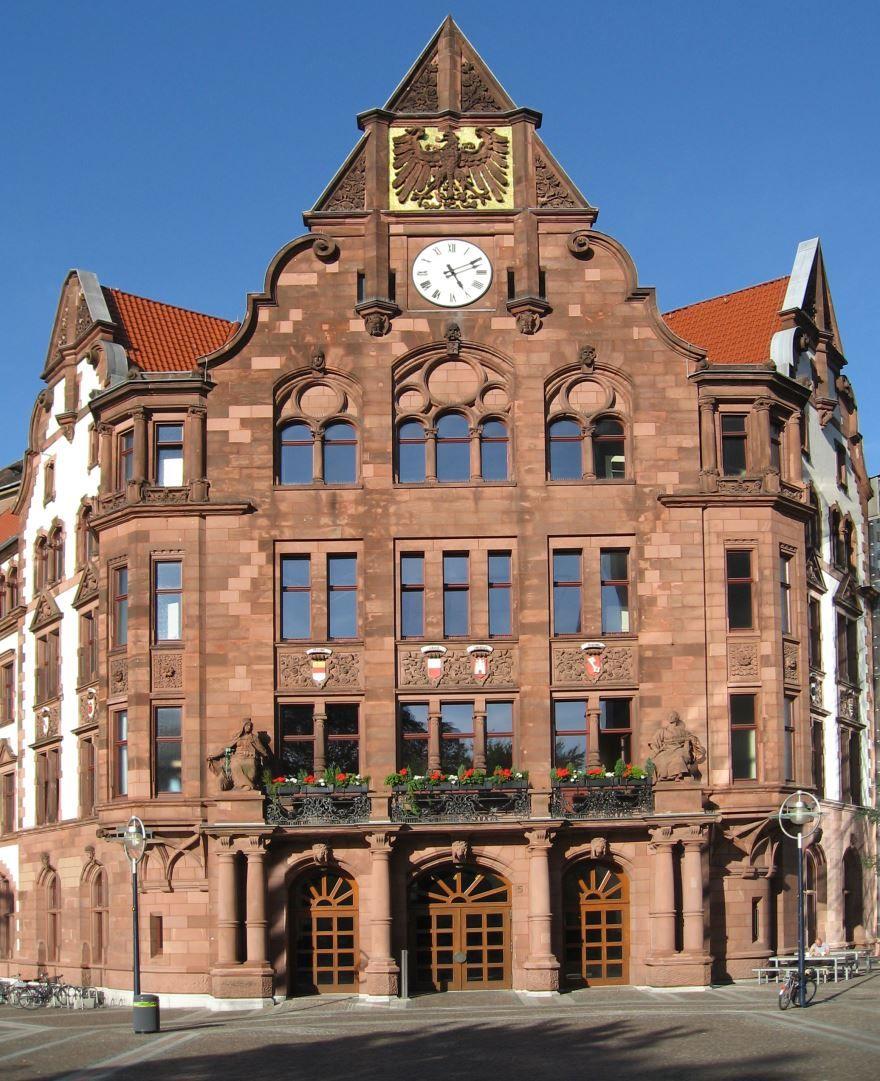 Красивая архитектура города Дортмунд