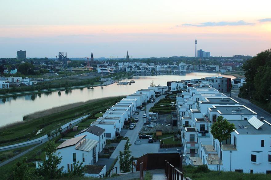 Скачать онлайн бесплатно лучшее фото город Дортмунд в хорошем качестве