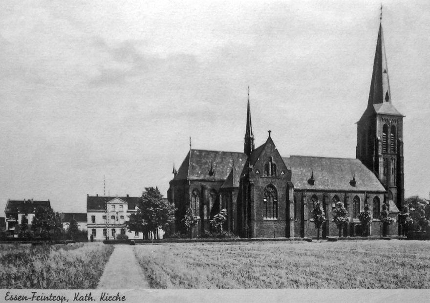 Смотреть лучшее старинное фото города Эссен в хорошем качестве