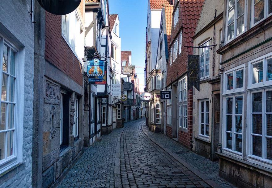 Смотреть лучшее фото старого города Бремен