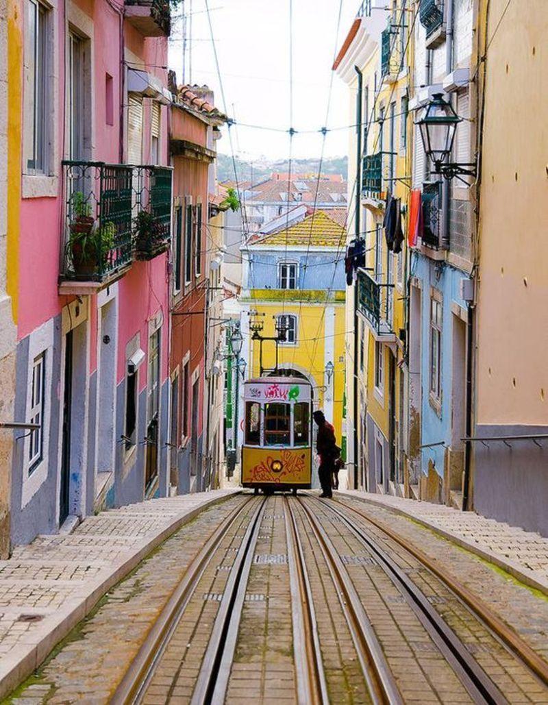Старый город Лиссабон