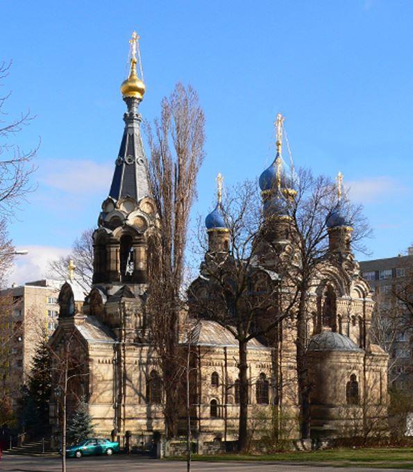 Православная церковь город Дрезден