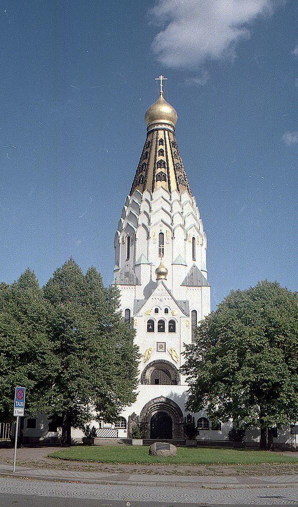 Русская Православная церковь город Лейпциг