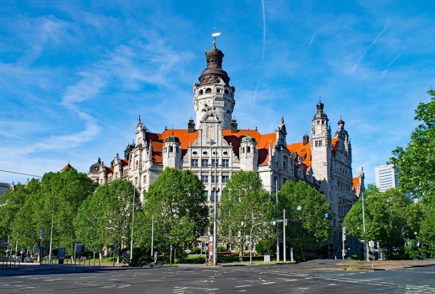 Скачать онлайн бесплатно лучшее фото города Лейпциг в хорошем качестве