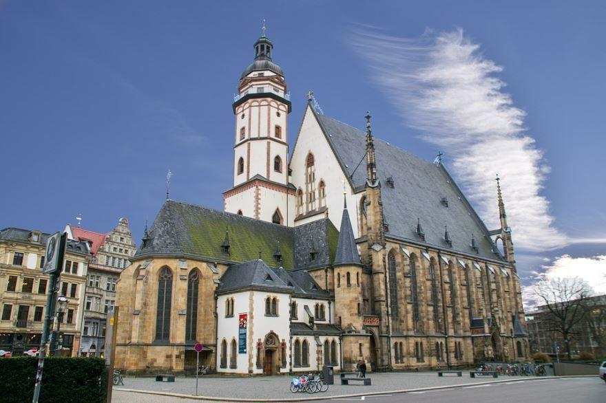 Смотреть красивое фото город Лейпциг