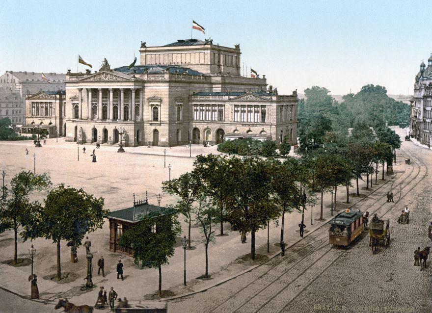 Смотреть лучшее старинное фото город Лейпциг в хорошем качестве