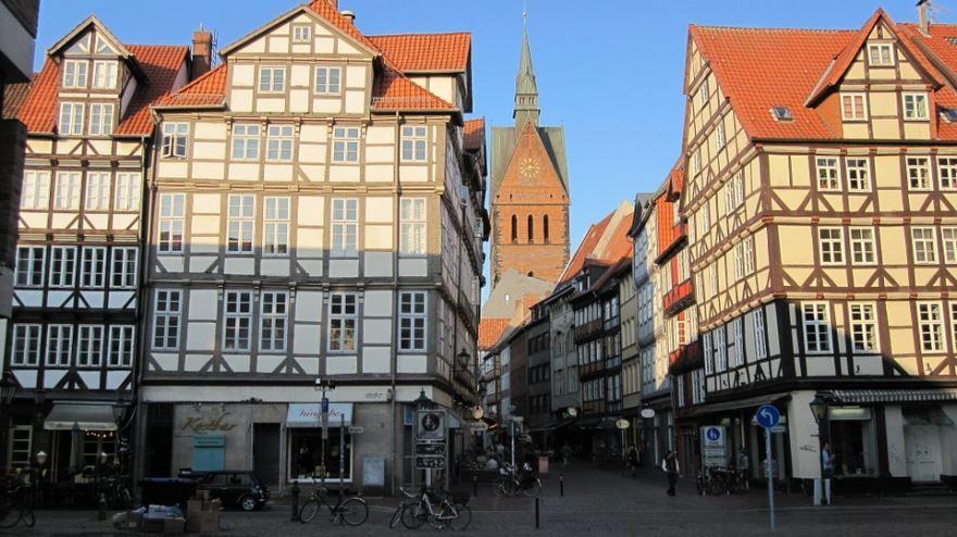Исторический центр город Ганновер