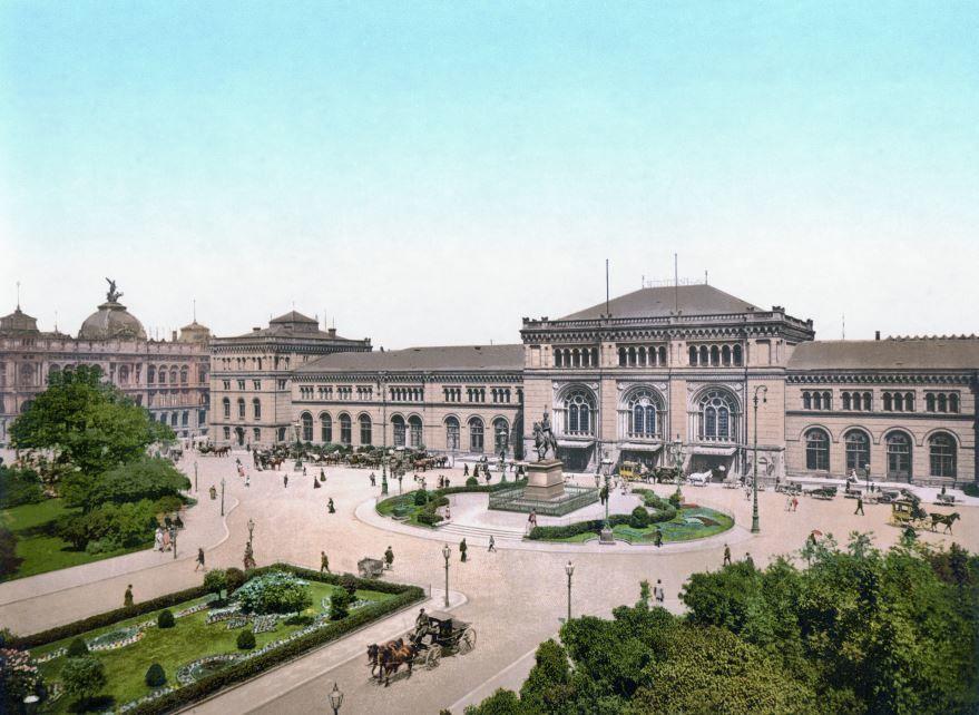 Смотреть красивое фото площадь в городе Ганновер 2019