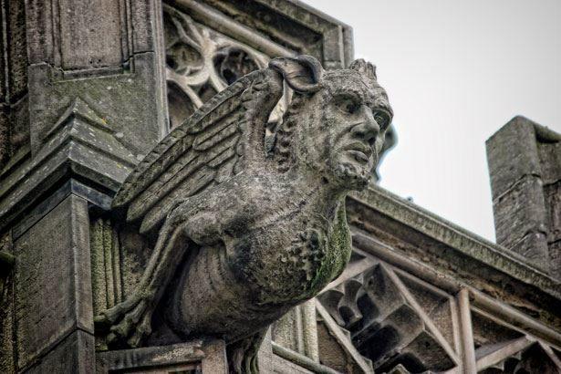 Красивая архитектура город Манчестер
