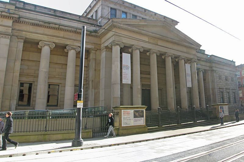 Художественная галерея город Манчестер Англия