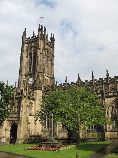 Кафедральный собор город Манчестер