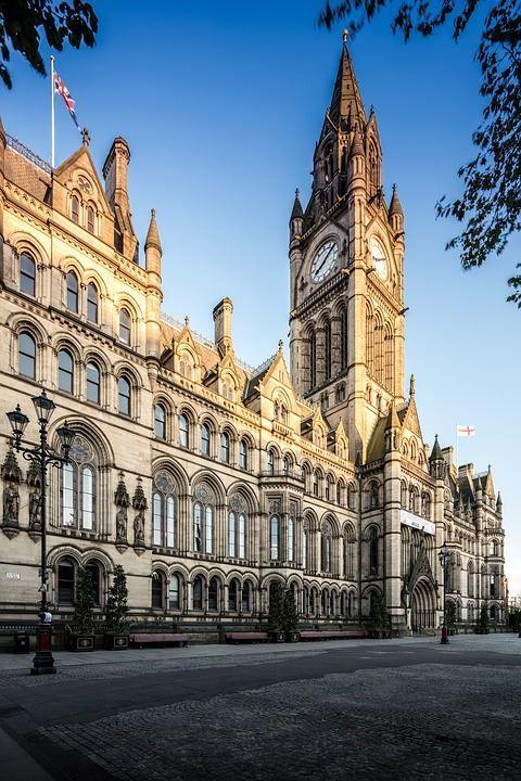 Ратуша город Манчестер